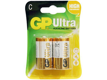 Picture of GP Batteries Ultra Alkaline - C 2 pcs.