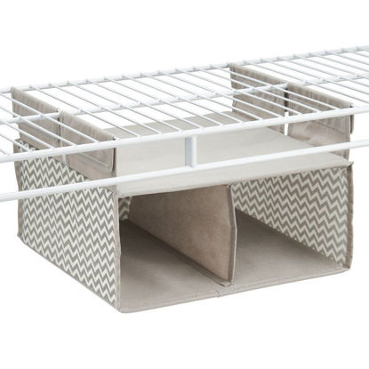 Picture of Interdesign Axis Hanging - 2 Compartment Organizer