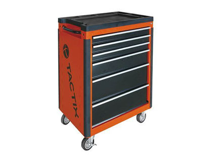Picture of Tactix 6 Drawer Wide Roll Away Cabinet