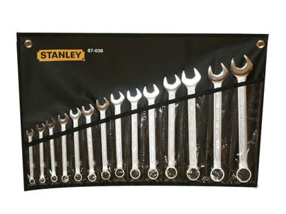 Picture of Stanley Slimline Combination Wrench Set 14PCS. 87-036-1-22