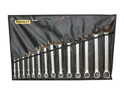Picture of Stanley Slimline Combination Wrench Set 14PCS. 87-038-1-22