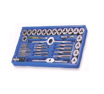Picture of S-Ks Tools USA 40 Pcs. Tap & Die Set - Metric Combination of NC & NF