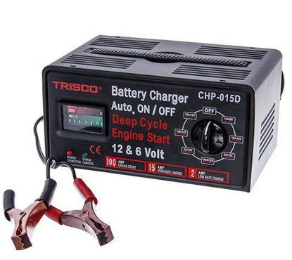 Picture of Trisco CHP-015D Battery Charger 15 Amps. 6/12 Volts