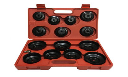 "Picture of Licota ATA-0291 3/4"" Drive Cup-Type Oil Filter Wrench Set (Black)"