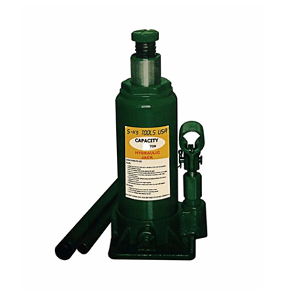 Picture of S-Ks Tools USA JM-10015SH 15 Tons Hydraulic Bottle Jack (Green)