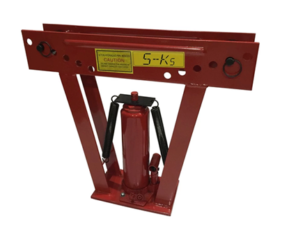 "Picture of S-Ks Tools USA JM-8012PB-2"" Heavy Duty 12Tons Hydraulic Pipe Bender (Black/Red)"