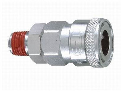 "Picture of THB 1/4"" Steel Quickly Coupler Body - Male End"