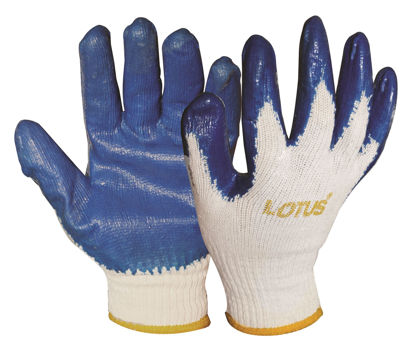 Picture of Lotus LSCG600B Rubber Gloves (Blue)