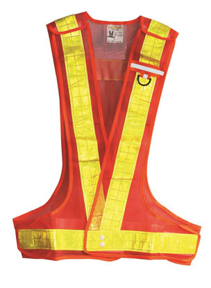 Picture of Lotus LRV2405LO  Reflective Vest (Orange)