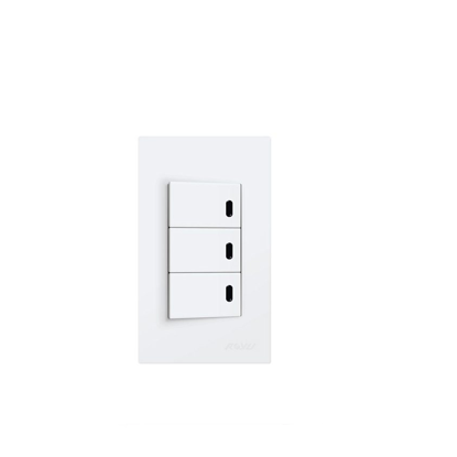 Picture of Royu 3 Gang Switch with LED Set WD605