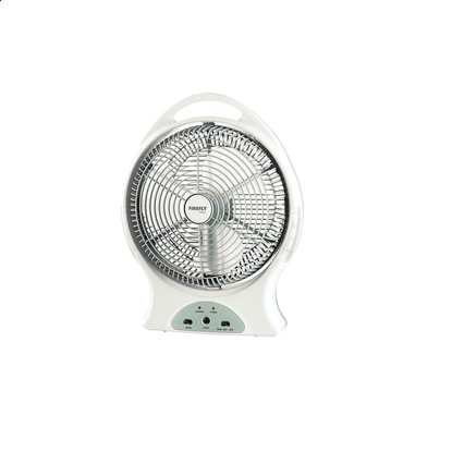 "Picture of Firefly 12"" Oscillating 2-Speed Fan with 8 LED Night Light &USB Mobile Phone Charger FEL627"