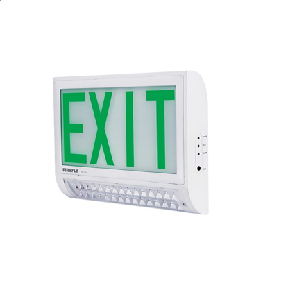 Picture of Firefly Double Emergency Back Up Exit Light with LED Emergency Light FEL231