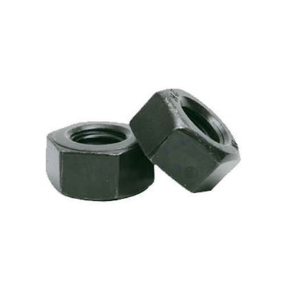 Picture of G8.8 Hex Nut Black, High Tensile Nut,Grade 8 Nut,  Metric Size