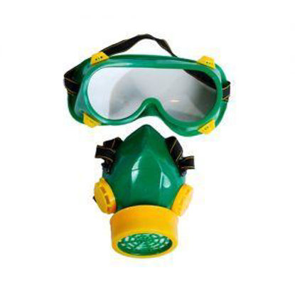 Picture of Powerhouse Paint and Chemical Respirator W/ Safety Googgles