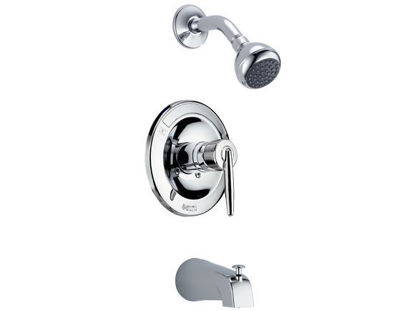 Picture of Delta In-wall Tub & Shower-Stick Handle, W/3F Showerhead 25275-LA