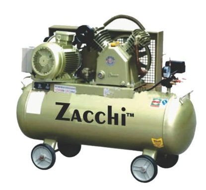 Picture of Zacchi Industrial Type Belt Air Compressor ZAC-100