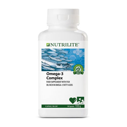 Picture of Nutrilite Omega 3 Complex Softgel Capsule