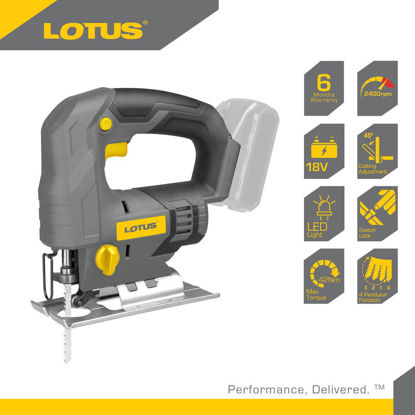 Picture of Lotus Jigsaw 18V X-LINE LTJS18VLI