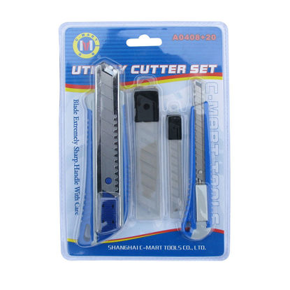Picture of Utility Cutter With Blade Set A0408+20