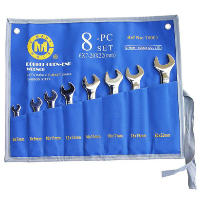 Picture of 8-Piece Double Open-end Wench Set T0003