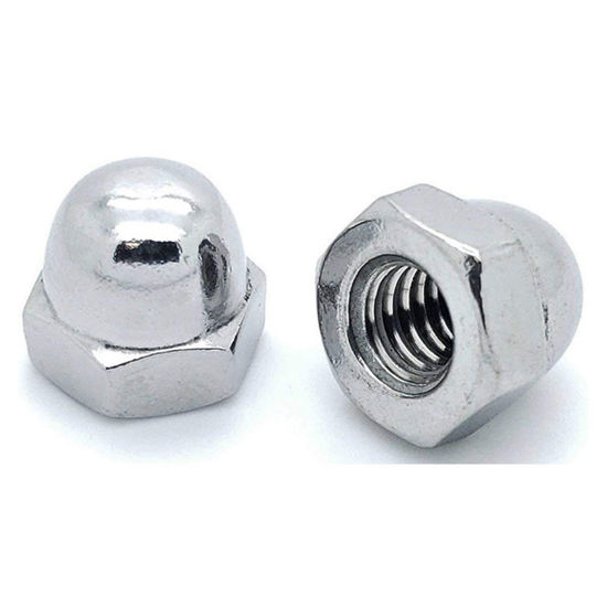 Picture of 304 Stainless Steel Cap Nut, Metric Size