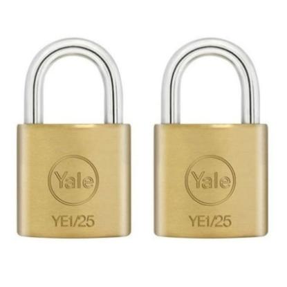 Picture of Key Alike 2 Pieces Brass Padlocks YE1/25/113/2