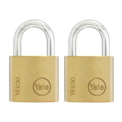 Picture of Key Alike 2 Pieces Brass Padlocks YE1/30/115/2