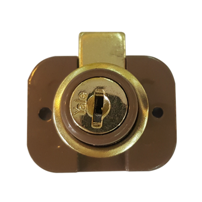 Picture of Drawer Locks Two-Hole Drawer Lock 9660HE