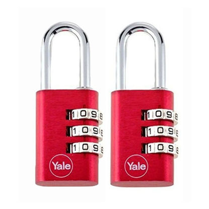 Picture of Aluminum Combination Padlocks YE3C/20/121/2