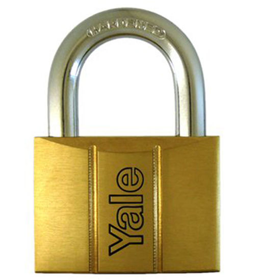 Picture of Yale V14060, Brass Padlock 60mm, V14060