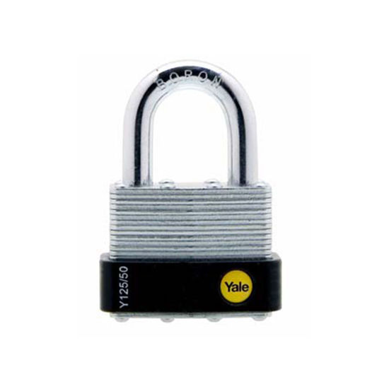 Picture of YALE Y125/50/129/1, Laminated Steel Padlock 50mm,Y125501291