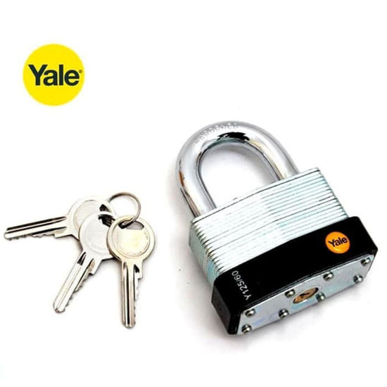 Picture of Yale Y125/60/133/1, Classic Series Outdoor Laminated Steel Padlock 60mm, Y125601331