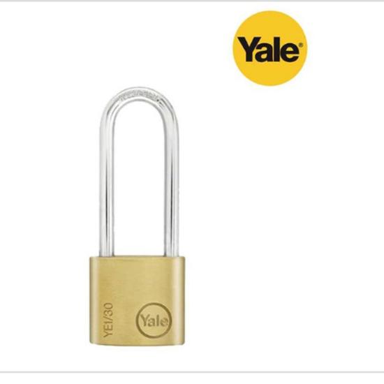 Picture of Yale YE1/30/147/1, Long Shackle Brass Padlock, YE1301471
