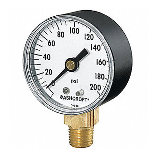 Picture of Harris Oxygen Gauge 200 PSI, 619