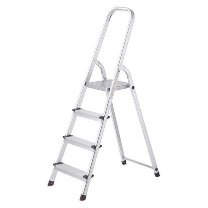 Picture of Jinmao Aluminum 4 Steps Household Step Ladder 150 kg, JMA017104